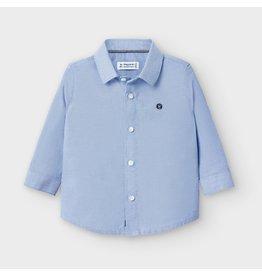 Mayoral L/s basic oxford shirt Lavender