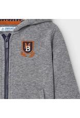 Mayoral Applique hoodie Iron