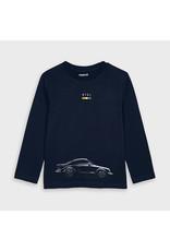 Mayoral L/s shirt cars Navy