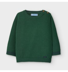 Mayoral Basic crew neck sweater SpanishFir