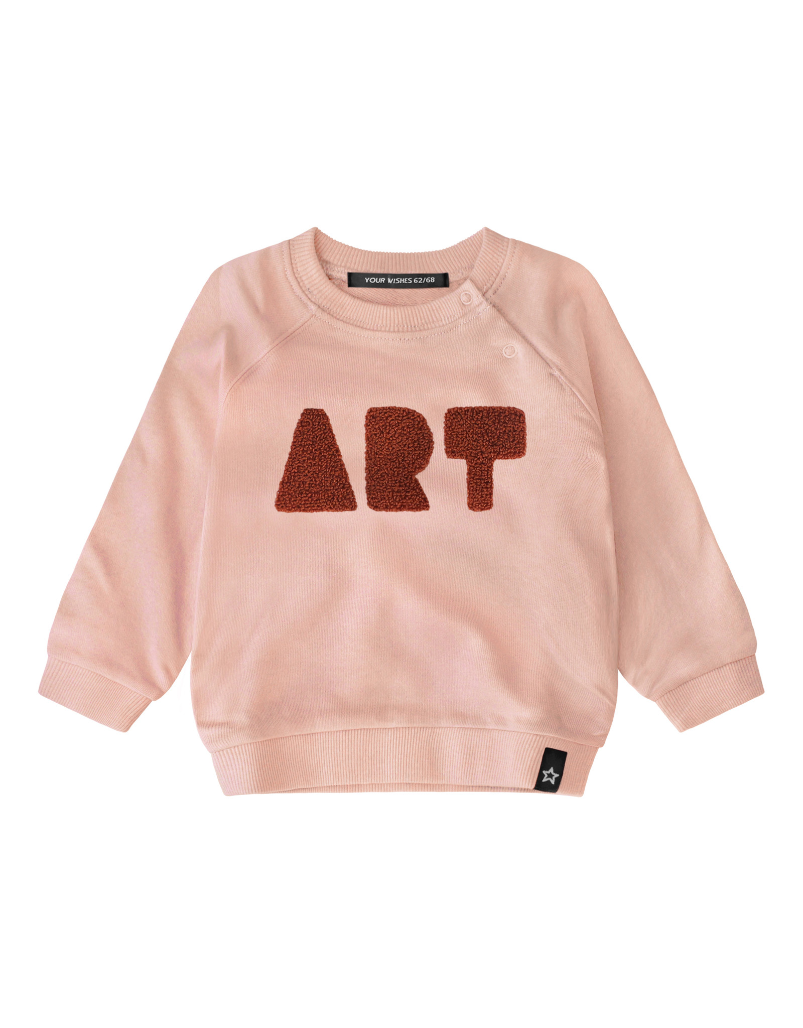 Your Wishes Art   Sweater Soft Pink