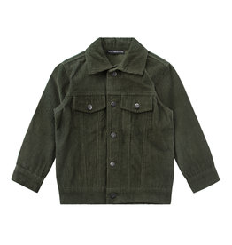 Your Wishes Corduroy | Jacket Desk Green
