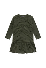Your Wishes Splatters | Shift Dress Desk Green