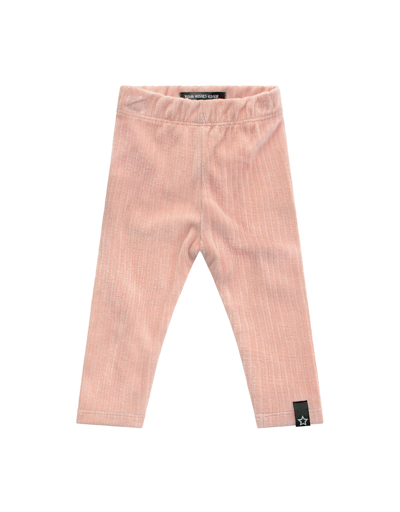 Your Wishes Rib | Legging Old Pink