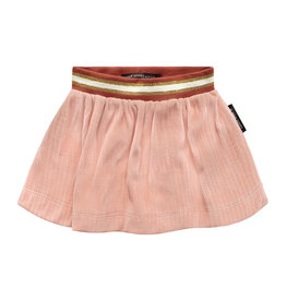 Your Wishes Rib | College Skirt Old Pink