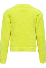 Kids Only Konancia L/S Short Pullover Knt Safety Yellow