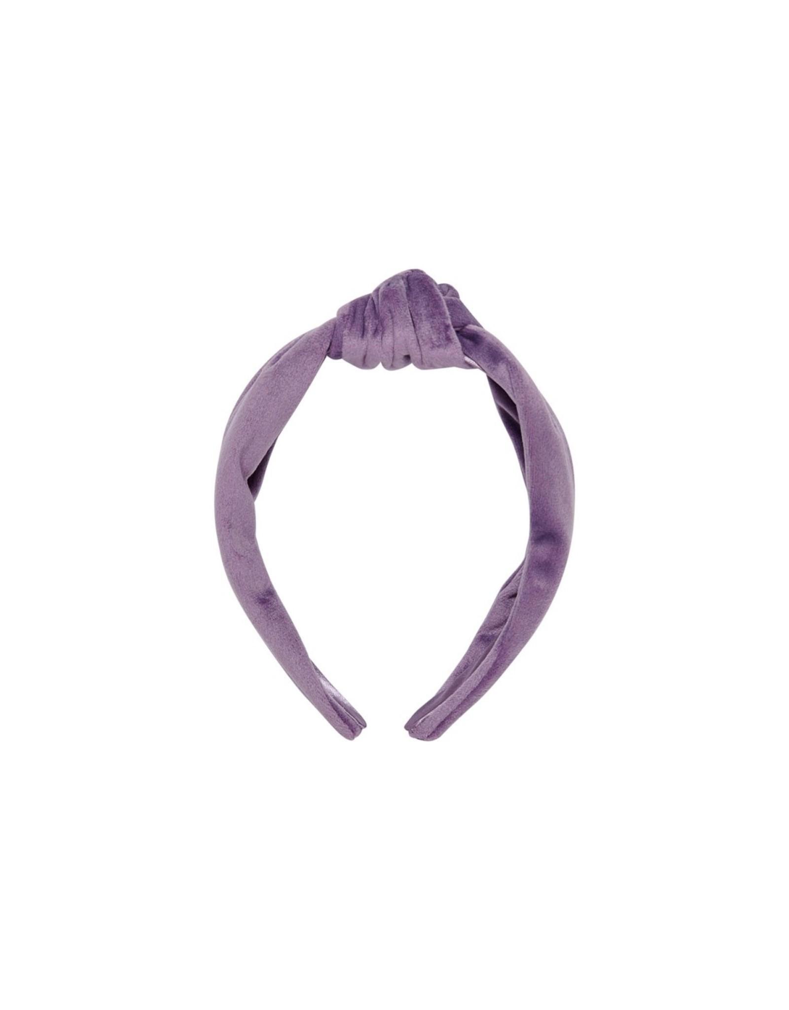 Kids Only Konbethany Velvet Headband Elderberry