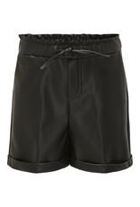 Kids Only Koncleo Pu Shorts Pnt Black