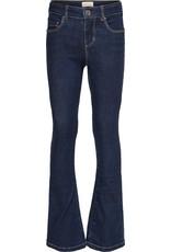 Kids Only Konlinn Flared Jeans Dark Blue Denim