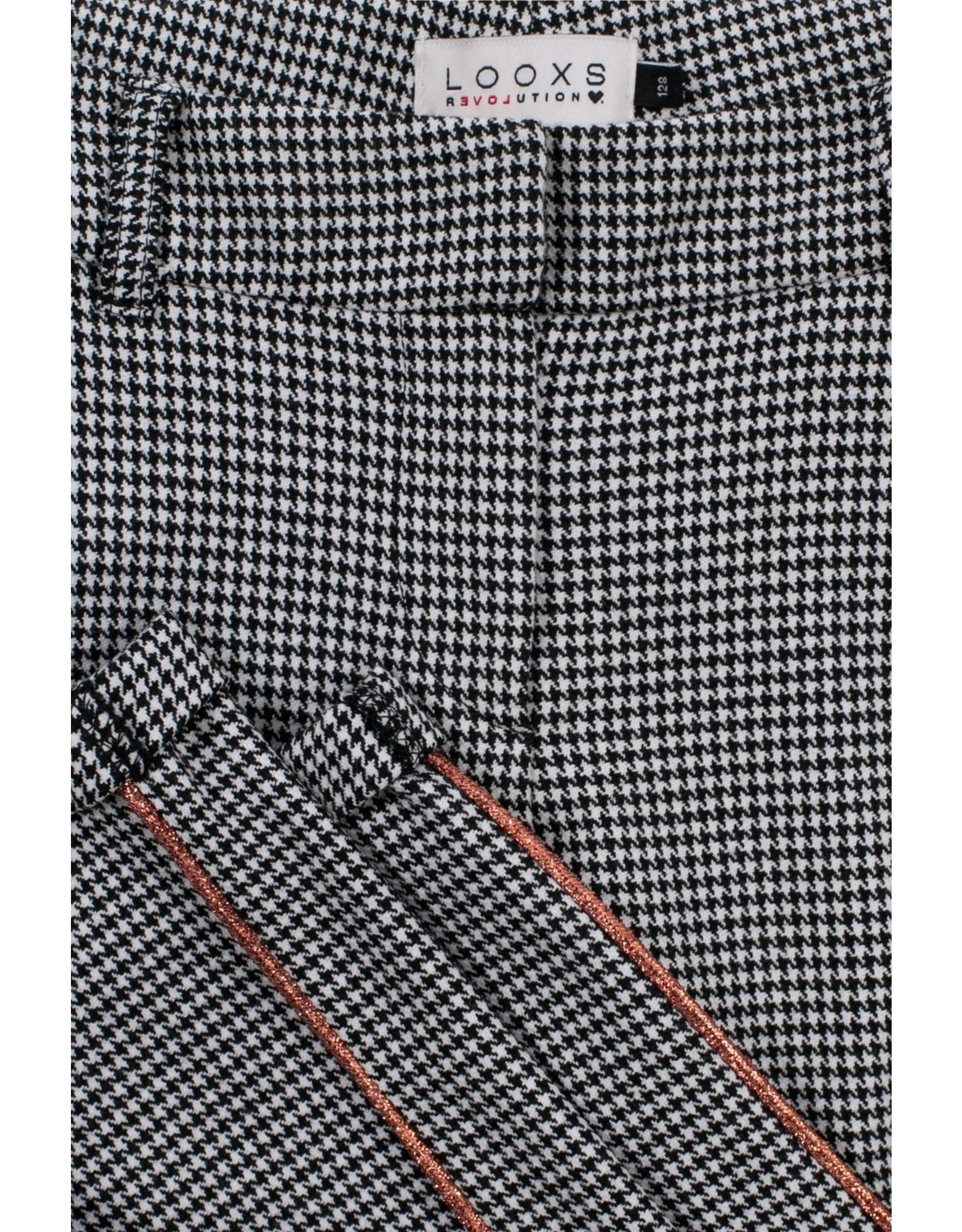 LOOXS 10sixteen Girls pants mini Pied de poule
