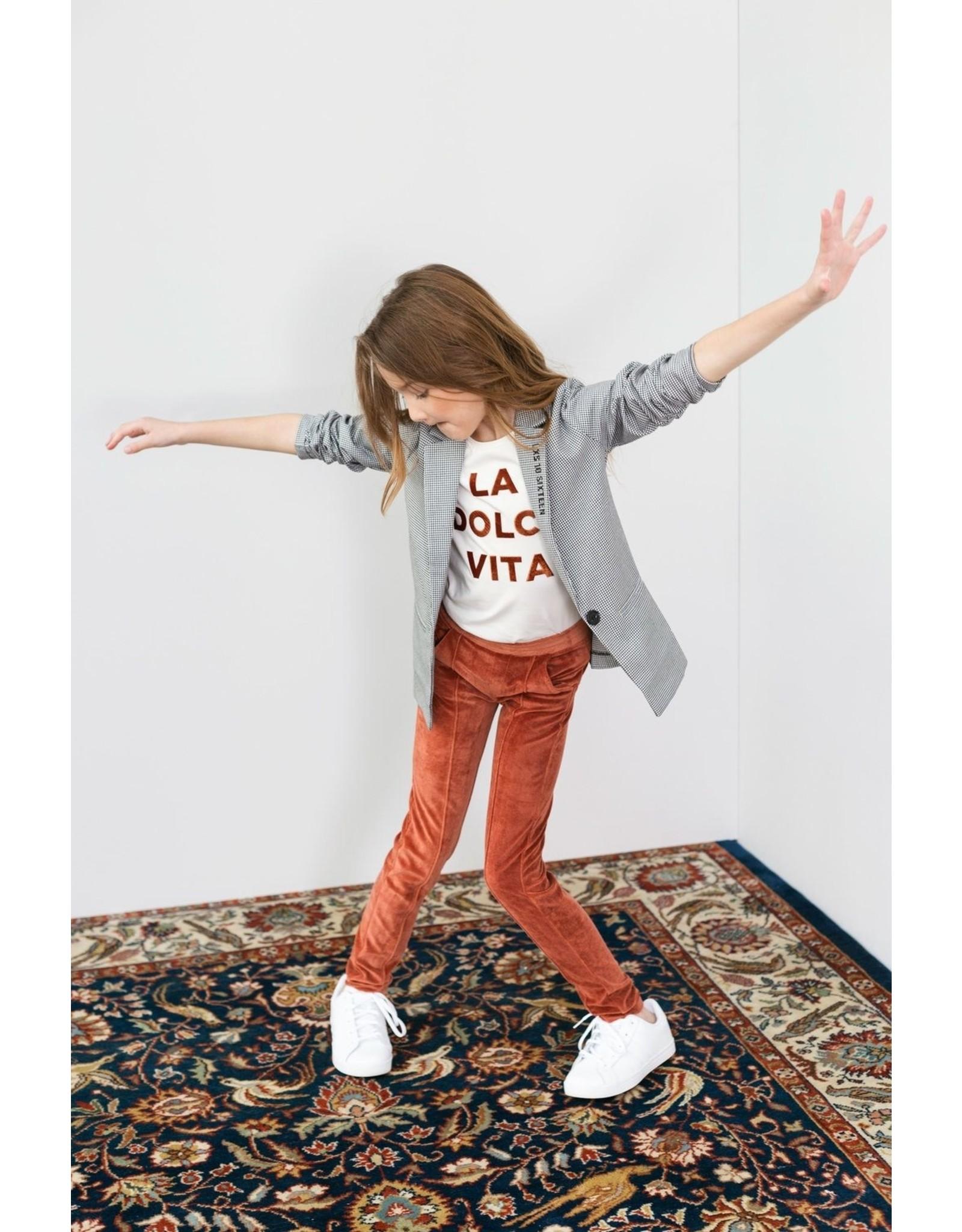 LOOXS 10sixteen Girls T-shirt s/s Chalk