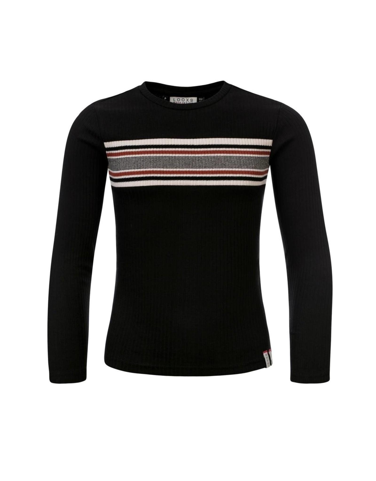 LOOXS 10sixteen Girls T-shirt l/s black