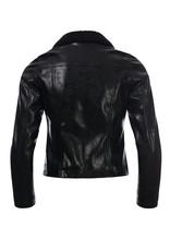 LOOXS 10sixteen Girls biker jacket black