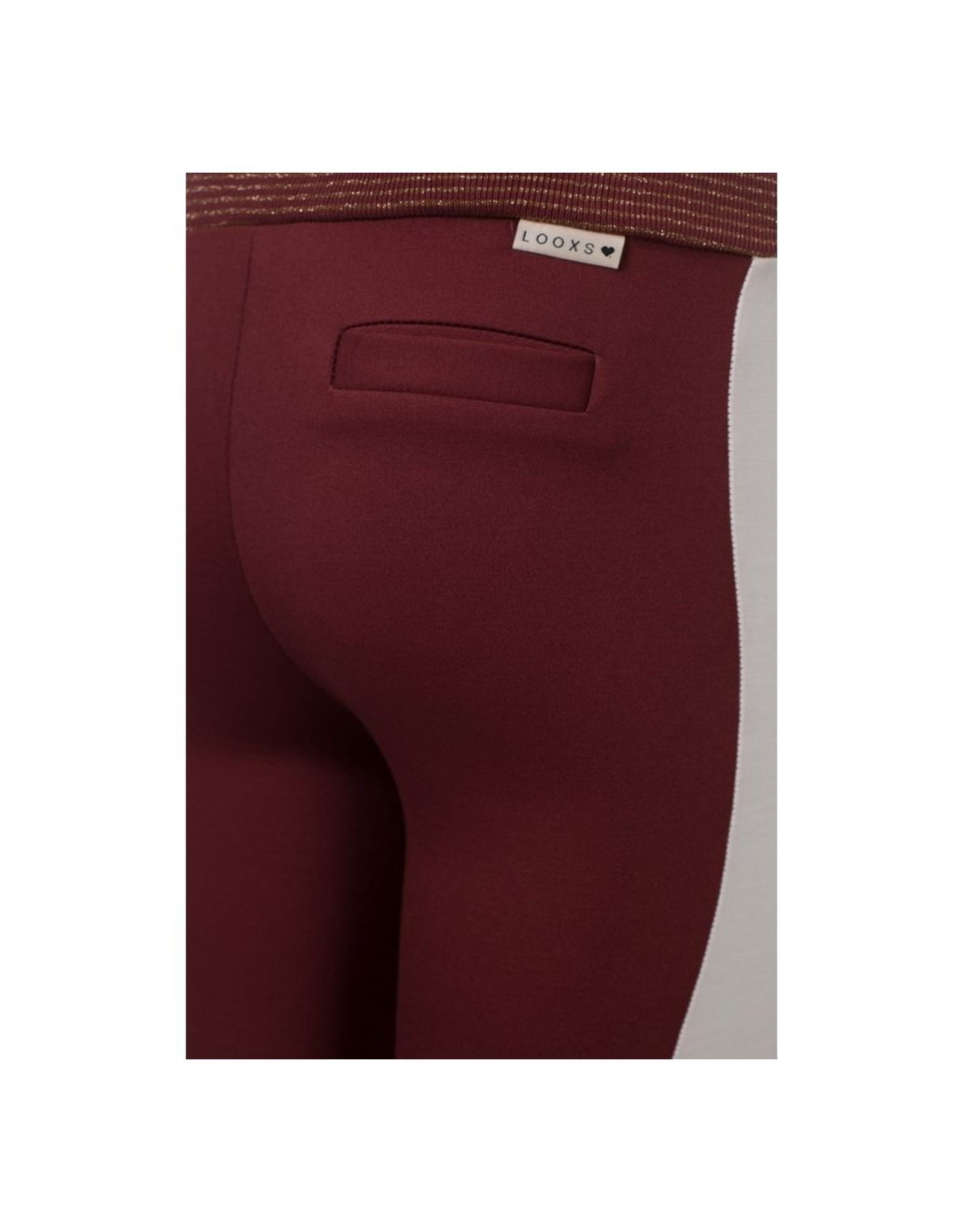 LOOXS Little Little sweat pants wine