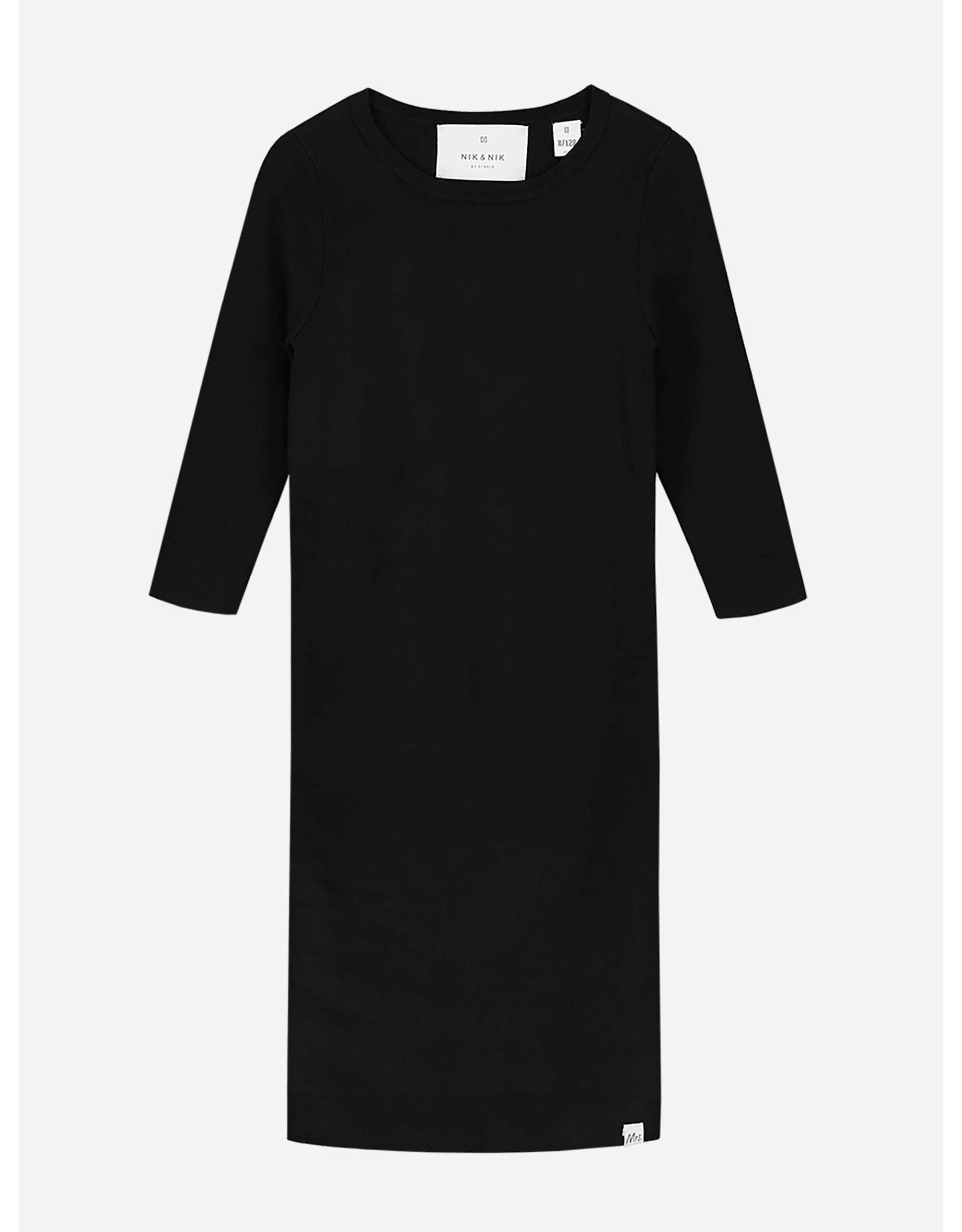 Nik & Nik Albani Jolie Dress Black