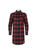 Jacky Luxury dress check print red