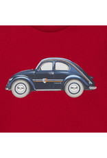 Mayoral Cars T-shirt met lange mouwen voor babyjongens Bordeaux