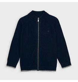 Mayoral Basic tricotjack voor jongens Navy