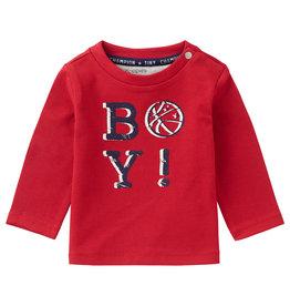 Noppies B T-Shirt LS Ceres Scarlet Sage
