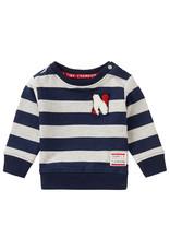 Noppies B Sweater LS Froglogg Str  Grey Mel.