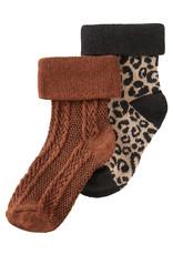 Noppies G Socks 2 pack Harding Rust