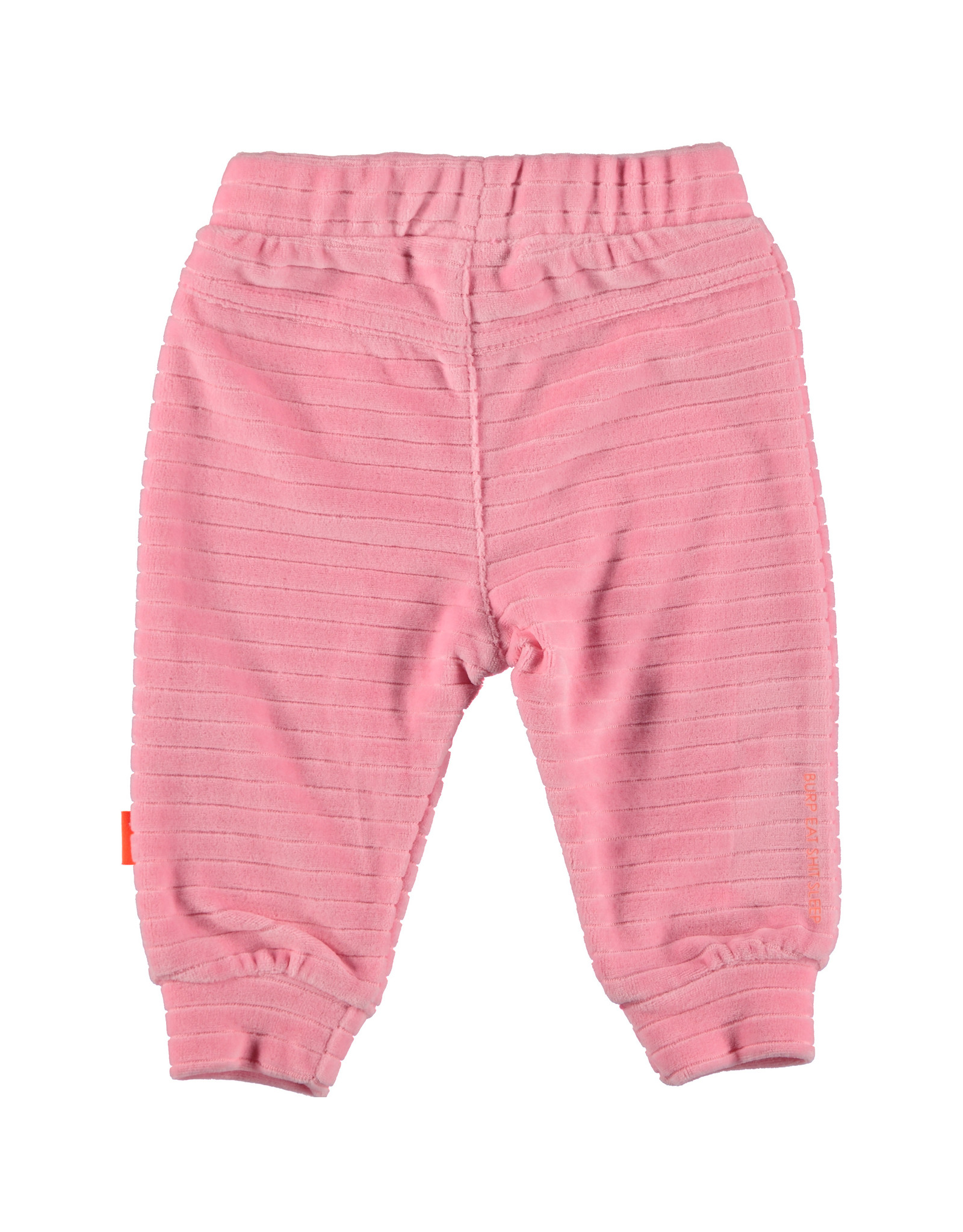 Bess Pants Velvet Striped Pink