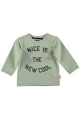 Bess Shirt l.sl. Nice is the New Cool Green