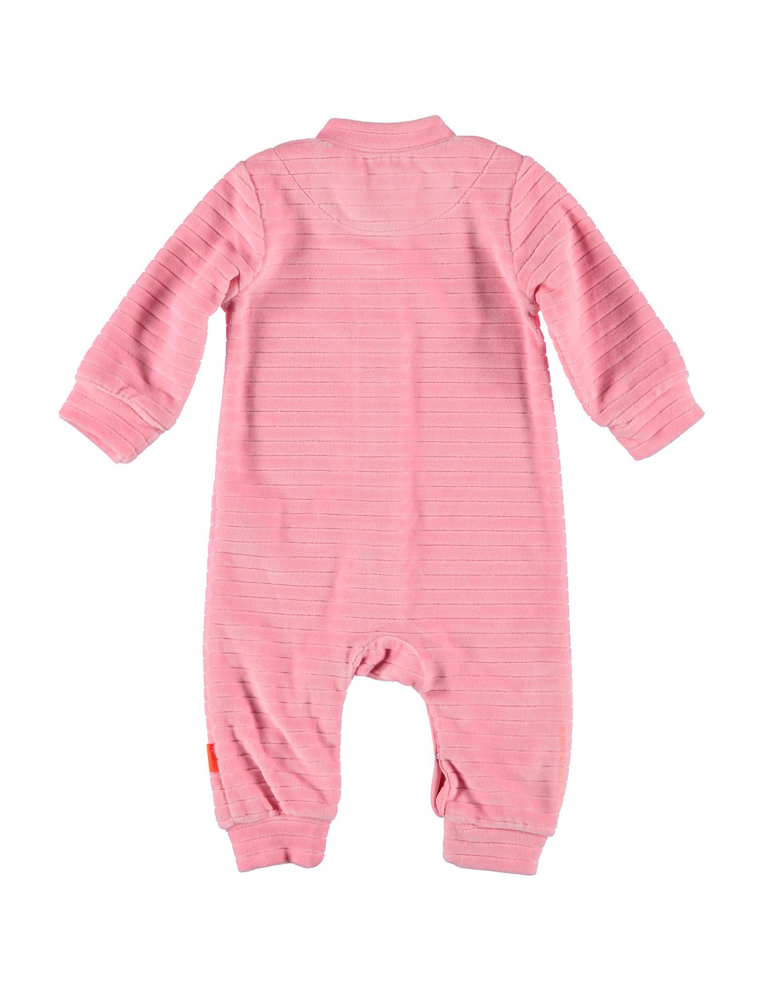 Bess Suit Velvet Striped Pink