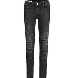 BOOF Robin Biker Zwart - Spijkerbroek