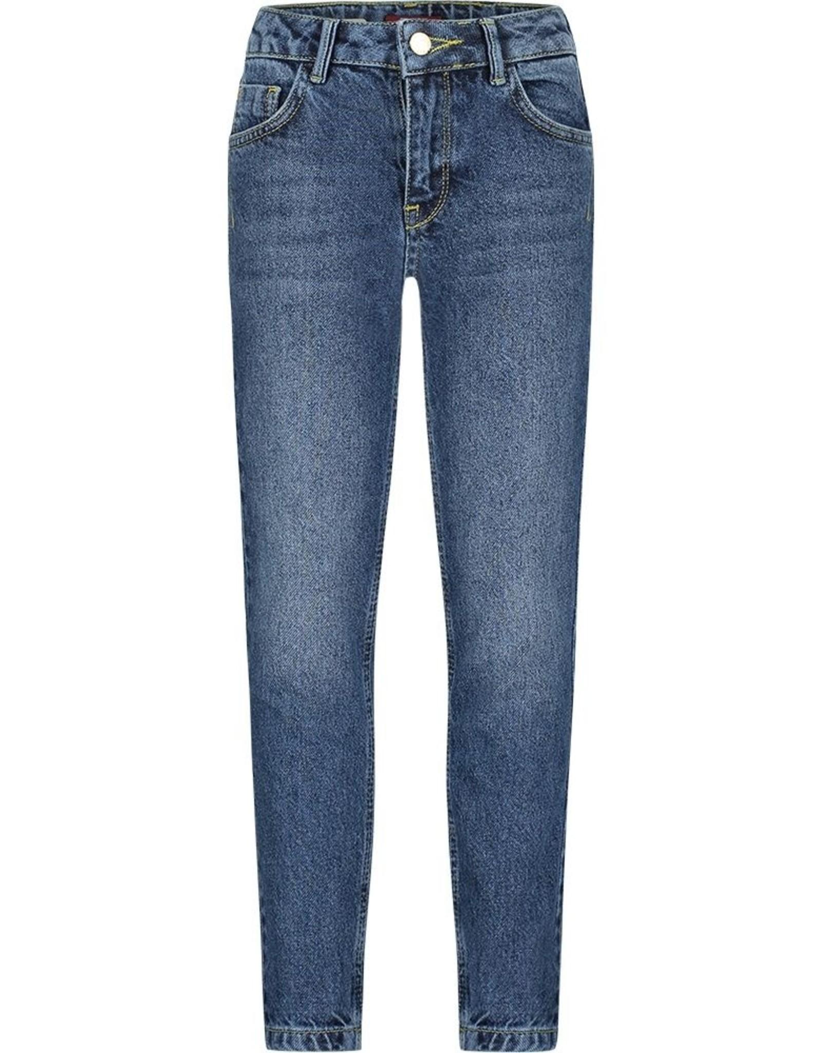 BOOF Puffin Dark Blue Boyfriend Jeans
