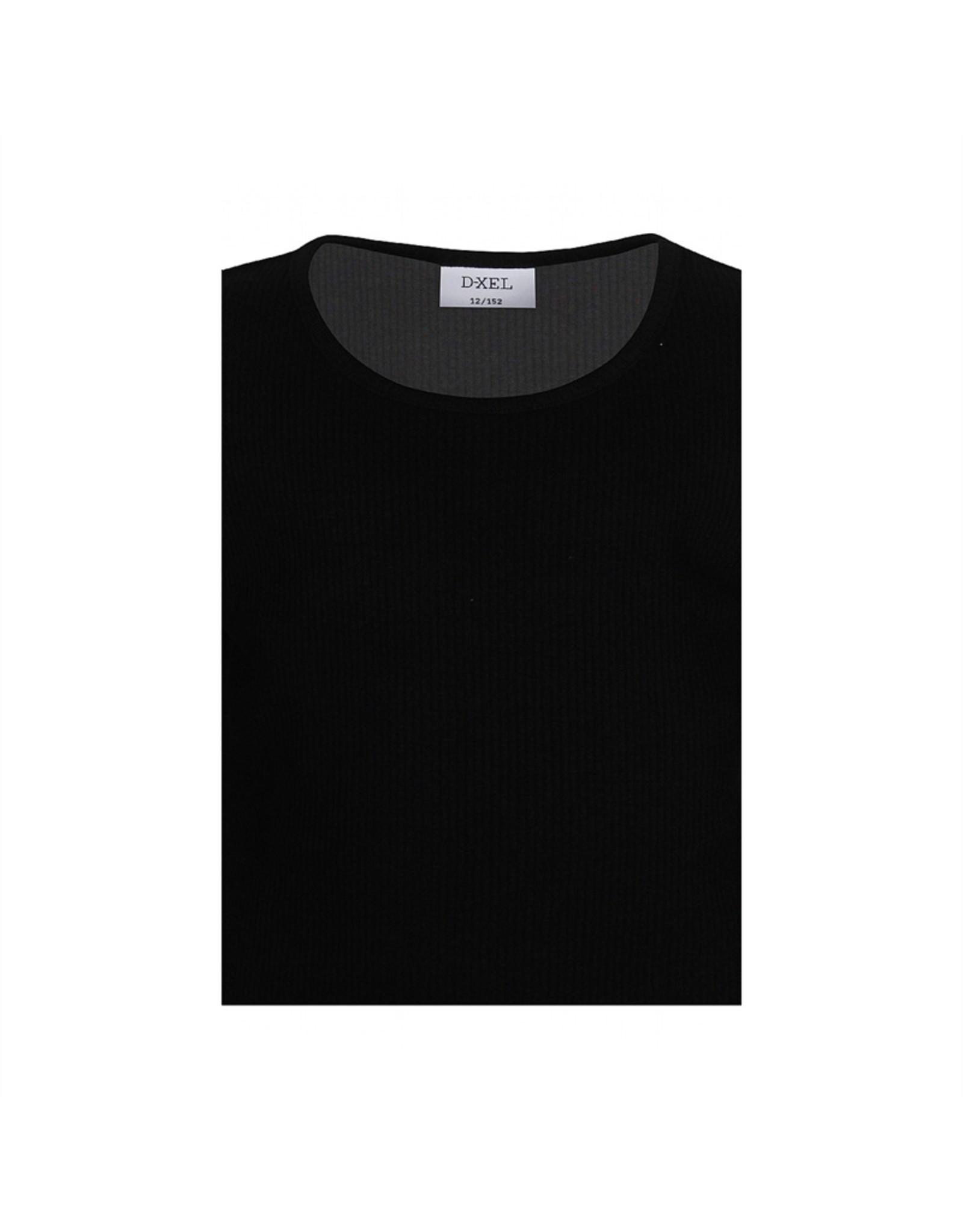 D-XEL T-SHIRT L/S BLACK/ZWART