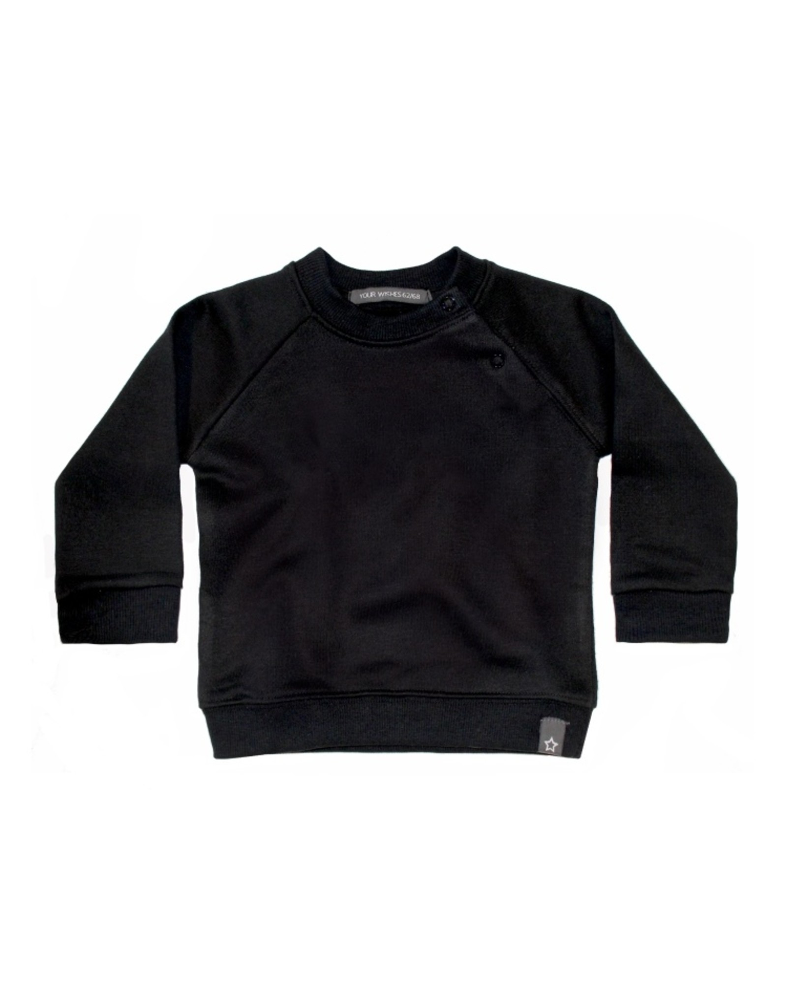 Your Wishes Solid | Sweater Black