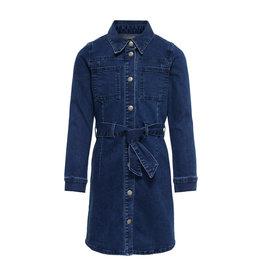 Kids Only Konharper Denim Dress Medium Blue