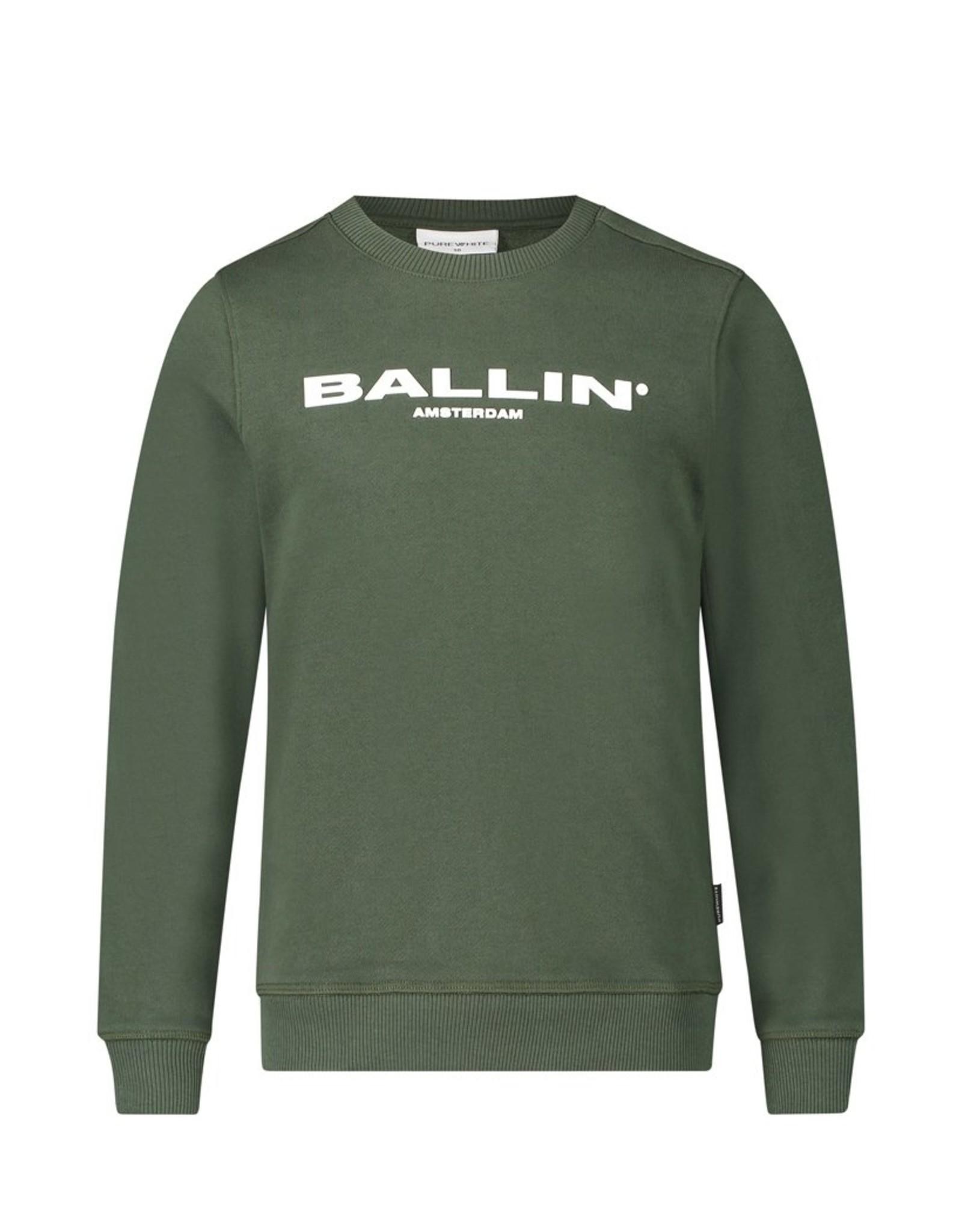 Ballin Amsterdam Orginal Crewneck Army Green