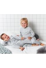 Feetje Pyjama wafel Grijs melange