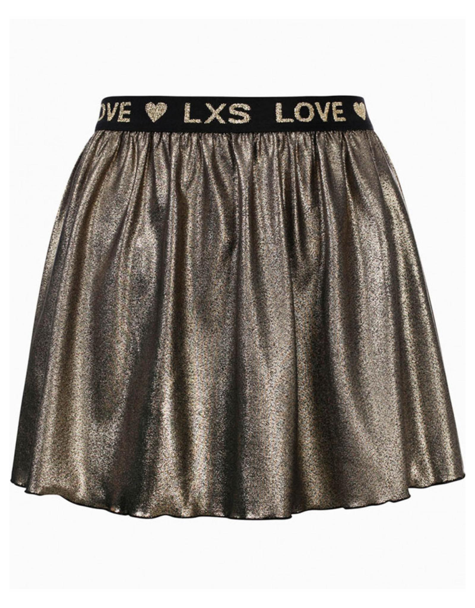 LOOXS Little Little metallic skirt gold