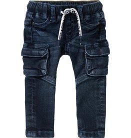 Noppies B Regular fit Pants Sterkstroom Denim Black Blue Wash