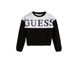 Guess Sweater Logo Color Black