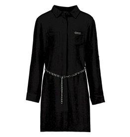Guess Blouse Dress BlackGlitter