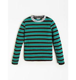 Guess Top Stripe Black Green