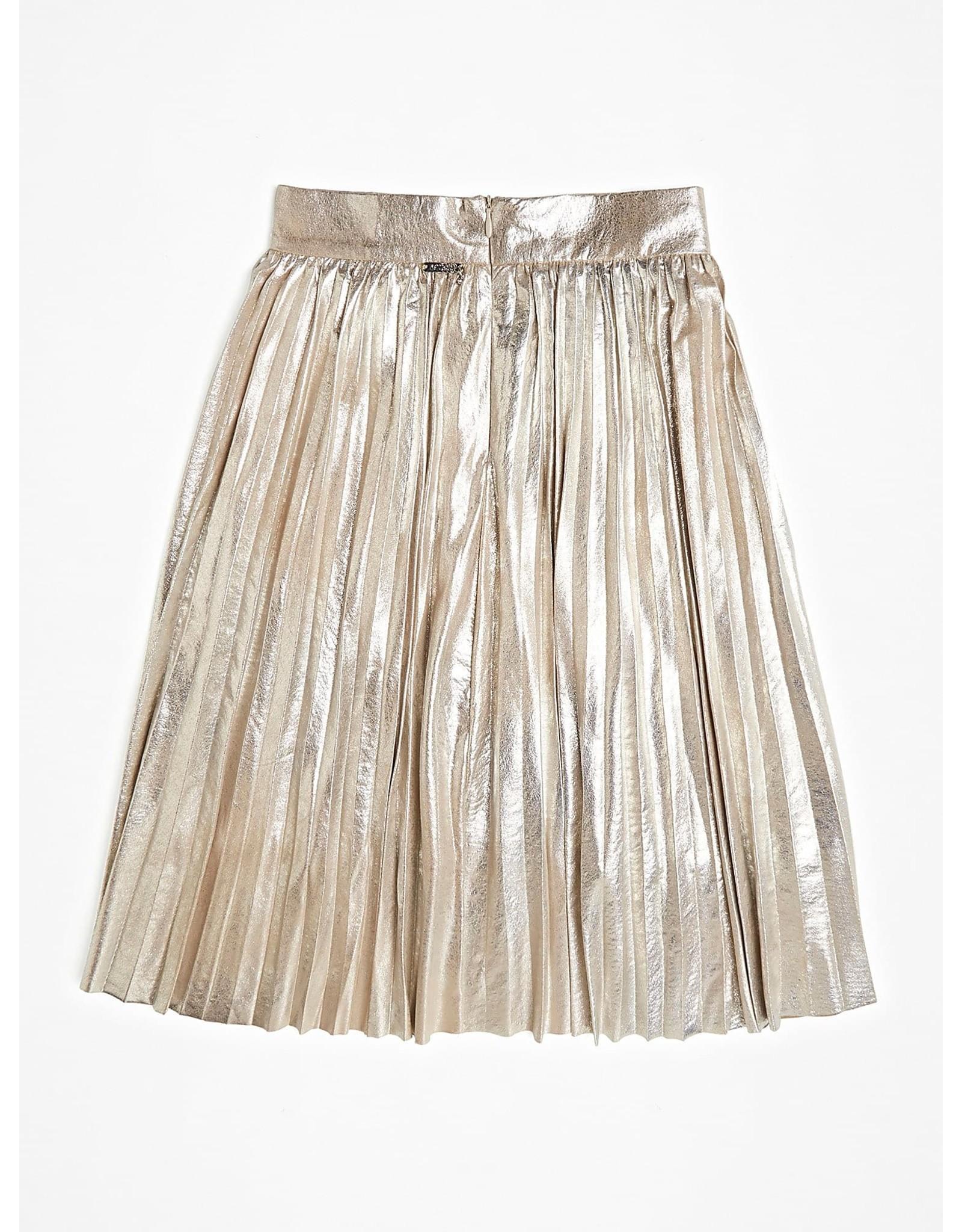 Guess Midi Skirt Gold