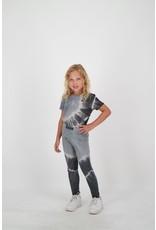 Reinders PANTS LEGGING TIE -DYE Metal Grey/True Black