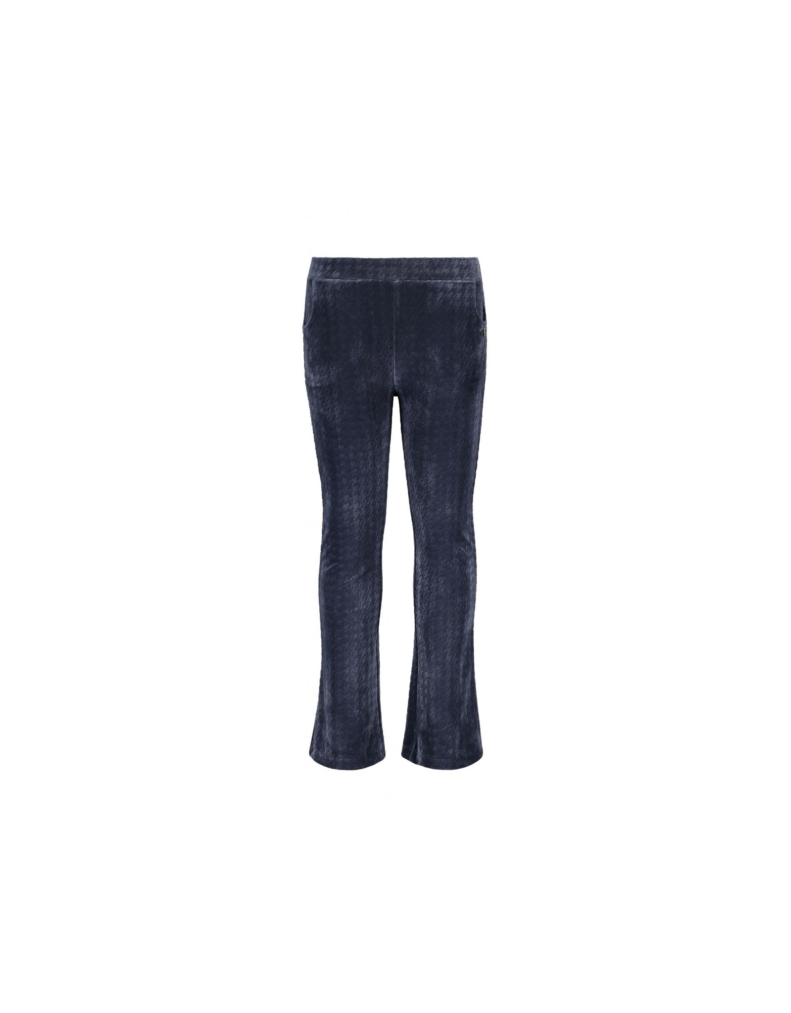 Like Flo girls PDP relief flared pants Navy