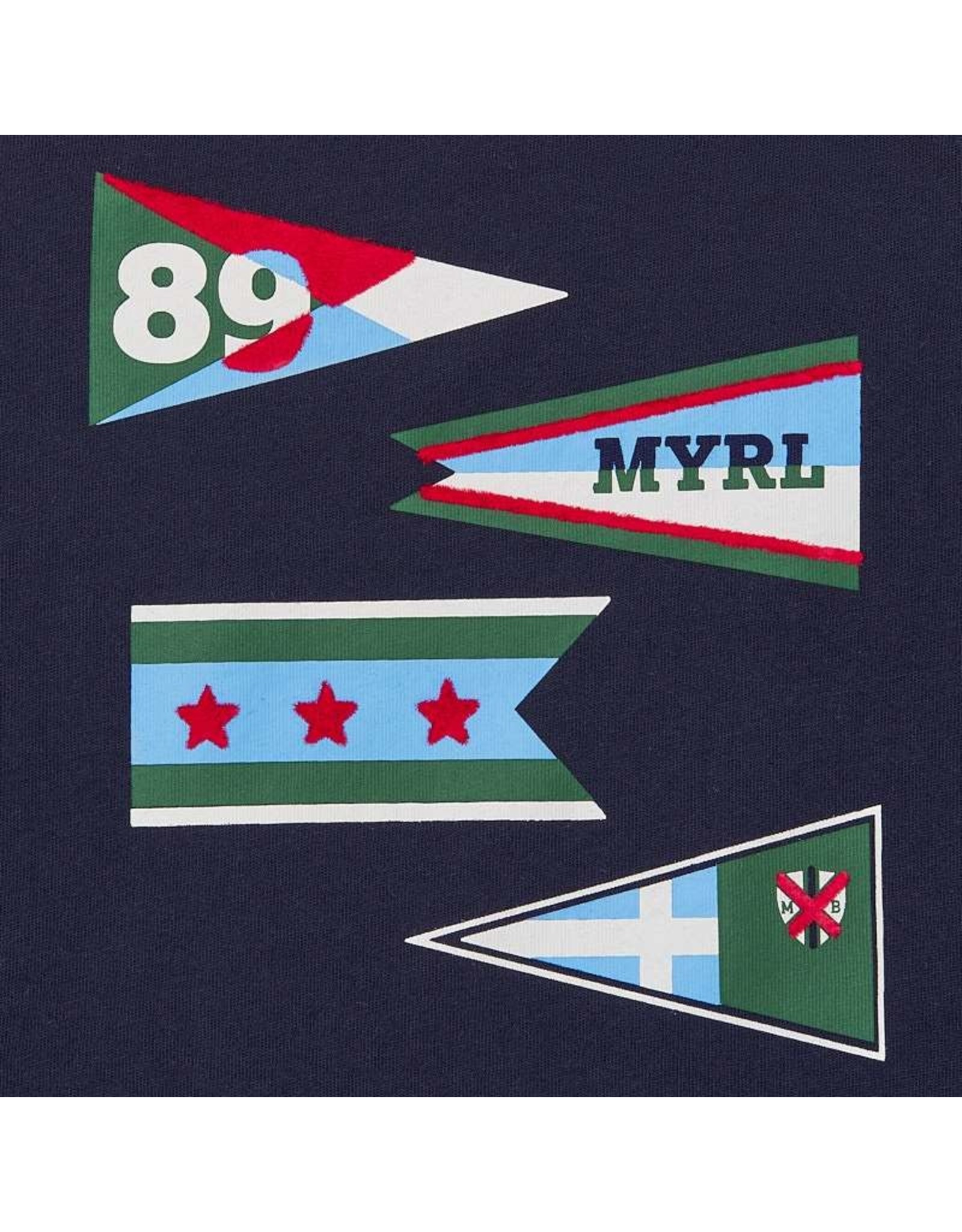 Mayoral L/s shirt flags blue