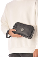 Black Bananas Shadow Clutch Black