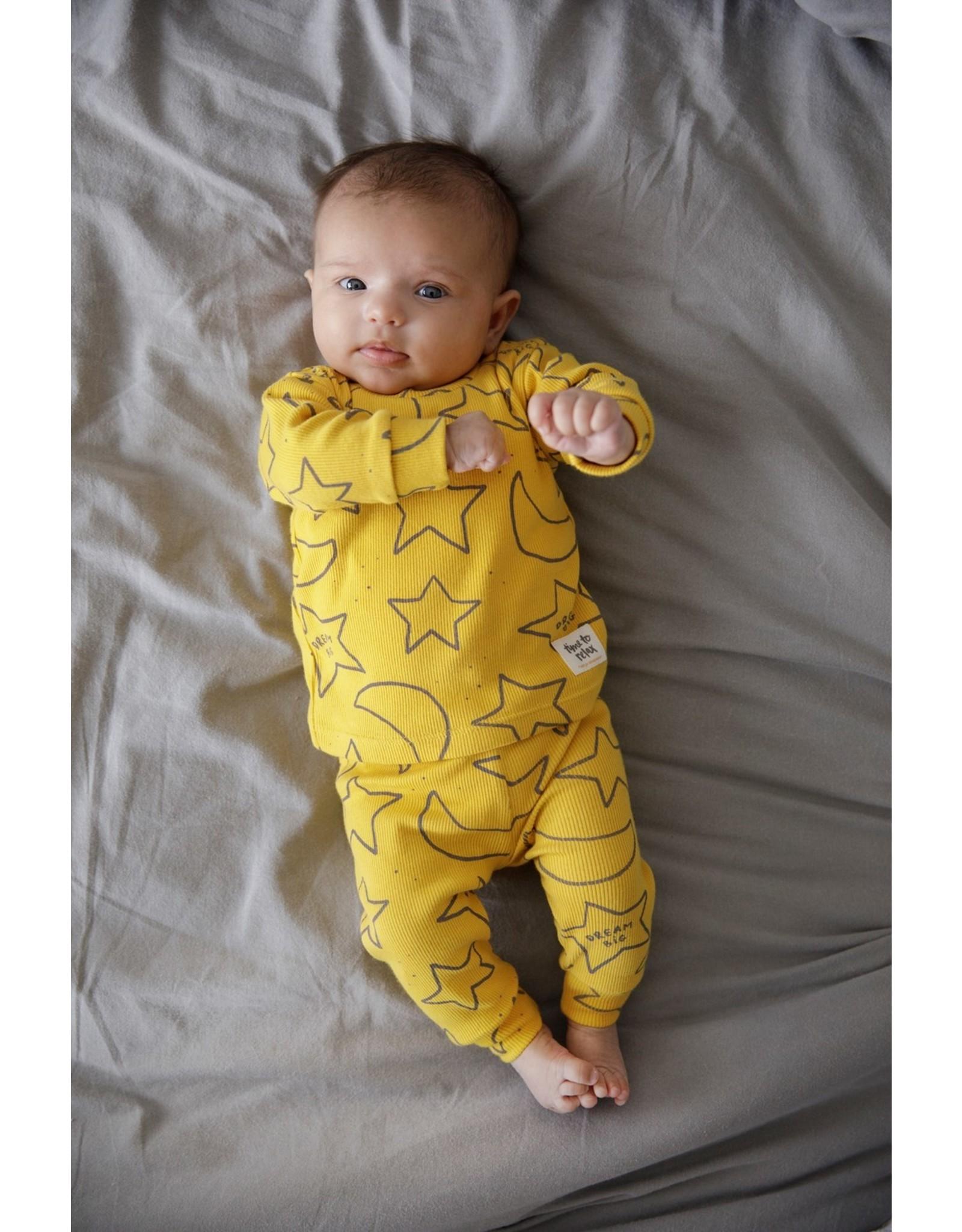 Feetje Star Skylar - Premium Sleepwear by FEETJE Okergeel