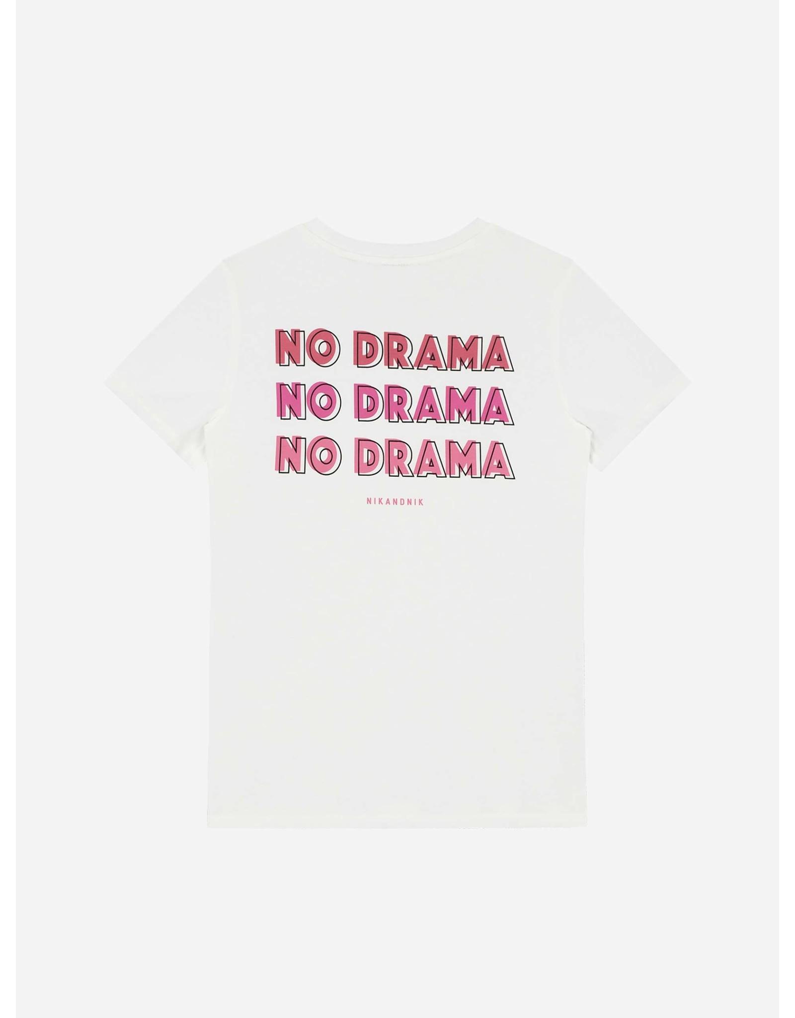 Nik & Nik No Drama T-Shirt Off White