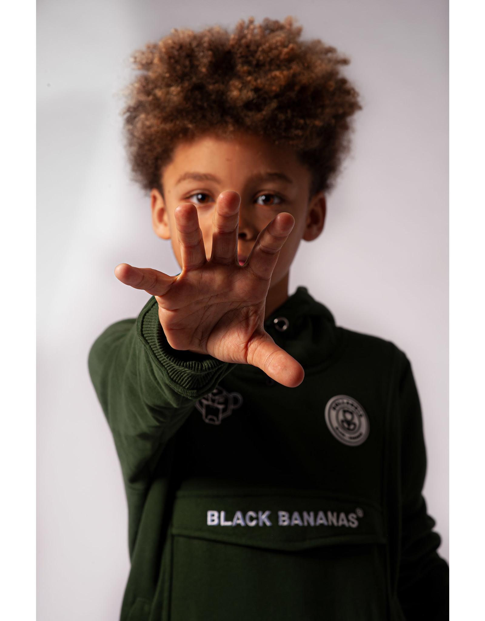 Black Bananas JR. Anorak Hoody Moss Green