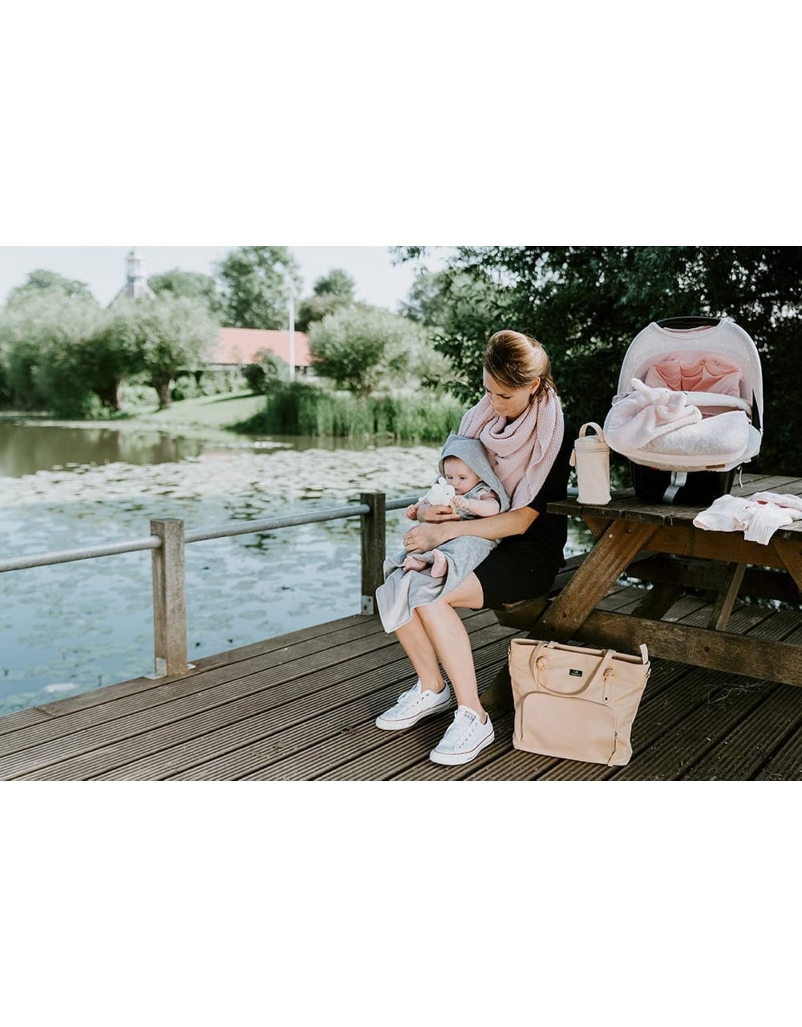 Baby's Only Houten rammelaar Olifant classic roze