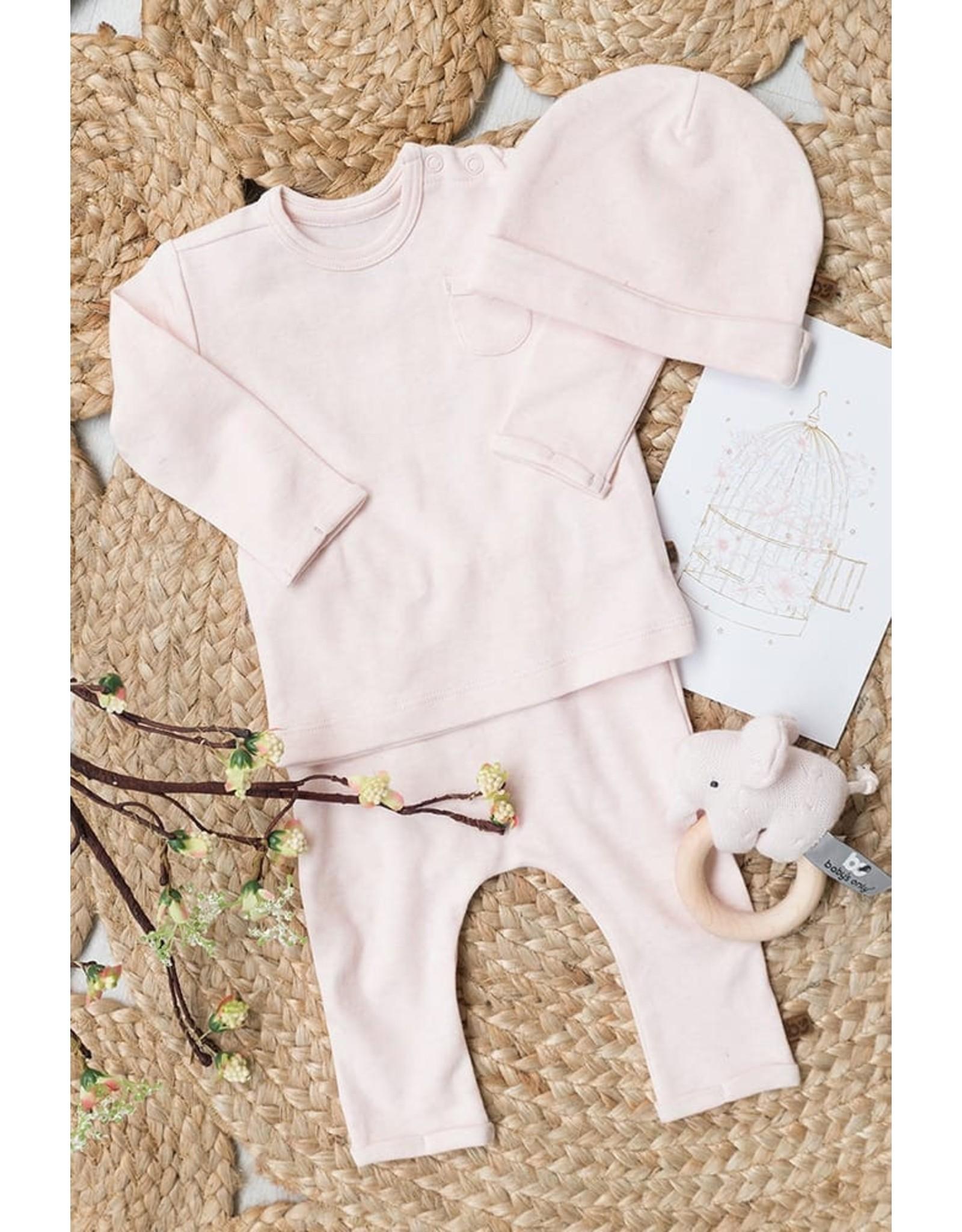 Baby's Only Mutsje Melange classic roze